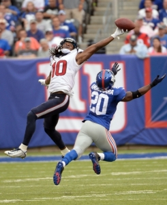 NFL: Houston Texans at New York Giants