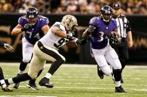NFL: Preseason-Baltimore Ravens at New Orleans Saints