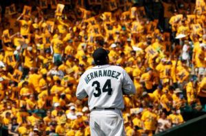 Will King Felix be holding court in October 2015?