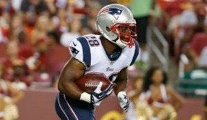 Can James White fill the void Shane Vereen left? (Photo from CSNNE.com)