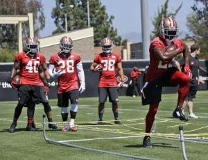 Reggie Bush turned some heads at OTAs (Photo courtesy profootballtalk.nbcsports.com)