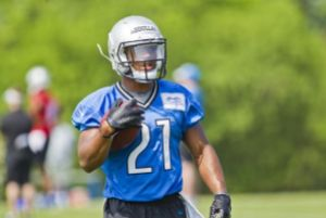 Abdullah looking good in the silver and blue (Image from nfl.univision.com)