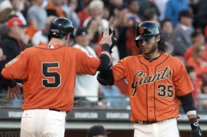 MLB: Oakland Athletics at San Francisco Giants