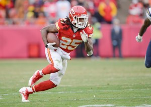 Jamaal Charles was the Chiefs' offense in 2014 (Photo from Fanduel.com)