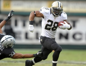 Mark Ingram, not just a clock-churner anymore. (photo from rotoprofessor.com)